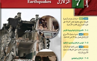 حل الفصل السابع الزلازل علم الأرض (جيولوجيا) مقررات