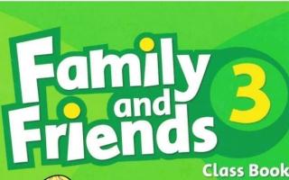حل كتاب الانجليزي Family and Friends 3 classbook للصف الثالث الابتدائي