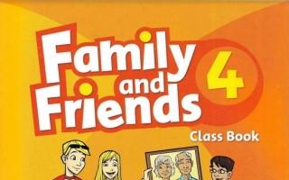 حل كتاب Family and Friends 4 class Book رابع ابتدائي