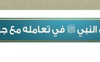حل درس هدي النبي ﷺ في تعامله مع جيرانه الحديث والسيرة للصف السادس
