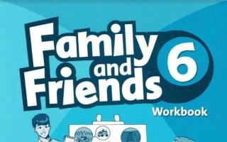 حل كتاب Family and Friends 6 WorkBook سادس ابتدائي